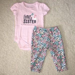Carters two piece set